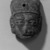 <em>Head</em>. Clay Brooklyn Museum, Ella C. Woodward Memorial Fund, 35.1781. Creative Commons-BY (Photo: Brooklyn Museum, 35.1781_acetate_bw.jpg)