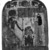 <em>Funerary Stela of Thenet</em>, ca. 945-712 B.C.E. Wood, stucco, pigment, 10 1/8 x 8 1/4 in. (25.7 x 21 cm). Brooklyn Museum, Charles Edwin Wilbour Fund, 37.1385E. Creative Commons-BY (Photo: Brooklyn Museum, 37.1385E_NegA_film_bw_SL4.jpg)