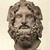 Roman. <em>Head of Serapis</em>, 75-150 C.E. Marble, 10 3/8 x 7 3/8 x 6 7/8 in. (26.4 x 18.7 x 17.5 cm). Brooklyn Museum, Charles Edwin Wilbour Fund, 37.1522E. Creative Commons-BY (Photo: Brooklyn Museum, 37.1522E_SL1.jpg)