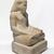 <em>Amunhotep, Son of Nebiry</em>, ca. 1426-1400 B.C.E. Limestone, pigment, 25 3/8 × 14 5/16 × 14 3/8 in., 206 lb. (64.5 × 36.3 × 36.5 cm, 93.44kg). Brooklyn Museum, Charles Edwin Wilbour Fund, 37.29E. Creative Commons-BY (Photo: , 37.29E_threequarter_PS9.jpg)