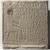 <em>Stela of Setju</em>, ca. 2500-2350 B.C.E. Limestone, pigment, 22 1/16 x 20 1/2 x 4 15/16 in., 119 lb. (56 x 52 x 12.5 cm, 54kg). Brooklyn Museum, Charles Edwin Wilbour Fund, 37.34E. Creative Commons-BY (Photo: , 37.34E_PS9.jpg)