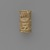 <em>Cylinder Seal</em>, ca. 4400-2675 B.C.E. Ivory, 7/8 x Diam. 1/2 in. (2.3 x 1.2 cm). Brooklyn Museum, Charles Edwin Wilbour Fund, 44.123.1. Creative Commons-BY (Photo: Brooklyn Museum, 44.123.1_PS6.jpg)