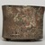 Teotihuacan. <em>Cylindrical Tripod Vessel</em>, ca. 550-650. Ceramic, stucco, pigment, 3 13/16 x 4 13/16 x 4 13/16 in. (9.7 x 12.2 x 12.2 cm). Brooklyn Museum, A. Augustus Healy Fund, 44.3. Creative Commons-BY (Photo: Brooklyn Museum, 44.3_view06_PS11.jpg)