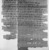 Aramaic. <em>Aramaic Adoption Contract</em>, October 22, 416 B.C.E. Papyrus, ink, 47.218.96a: Largest Fragment #1: 13/16 × 1 3/4 in. (2 × 4.5 cm). Brooklyn Museum, Bequest of Theodora Wilbour from the collection of her father, Charles Edwin Wilbour, 47.218.96a-b (Photo: Brooklyn Museum, 47.218.96_negC_bw_IMLS.jpg)