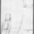 Edwin Howland Blashfield (American, 1848-1936). <em>Rock-Cut Tomb at Desrel Melek</em>, 1887. Graphite on paper mounted to paperboard, Sheet: 3 1/2 x 3 1/8 in. (8.9 x 7.9 cm). Brooklyn Museum, Gift of John H. Field, 48.217.16a (Photo: Brooklyn Museum, 48.217.16a_bw.jpg)