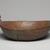 Delaware. <em>Bowl</em>, early 19th century. Wood, brass, 7 1/4 x 14 x 14 in. (18.4 x 35.6 x 35.6 cm). Brooklyn Museum, Henry L. Batterman Fund and the Frank Sherman Benson Fund, 50.67.161. Creative Commons-BY (Photo: Brooklyn Museum, 50.67.161_view02_PS11.jpg)