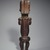 Master of Ntem. <em>Reliquary Guardian Figure (Eyema-o-Byeri)</em>, mid-18th to mid-19th century. Wood, iron, 23 × 5 3/4 × 5 in. (58.4 × 14.6 × 12.7 cm). Brooklyn Museum, Frank L. Babbott Fund, 51.3. Creative Commons-BY (Photo: , 51.3_back_SL3.jpg)