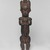An Ntem River Valley Master. <em>Reliquary Guardian Figure (Eyema-o-Byeri)</em>, mid-18th to mid-19th century. Wood, iron, 23 × 5 3/4 × 5 in. (58.4 × 14.6 × 12.7 cm). Brooklyn Museum, Frank L. Babbott Fund, 51.3. Creative Commons-BY (Photo: , 51.3_overall_PS9.jpg)