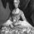 Miguel Cabrera (Mexican, 1695-1768). <em>Doña María de la Luz Padilla y Gómez de Cervantes</em>, ca. 1760. Oil on canvas, 43 x 33 in. (109.2 x 83.8 cm). Brooklyn Museum, Museum Collection Fund and Dick S. Ramsay Fund, 52.166.4 (Photo: Brooklyn Museum, 52.166.4_bw.jpg)