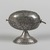 <em>Box in the Form of an Ethrog</em>, ca. 1900 after 17th-century model. Silver, 4 5/8 x 4 3/4 in. (11.7 x 12.1 cm). Brooklyn Museum, Purchased with funds given by the Jerome Levy Foundation, 55.224. Creative Commons-BY (Photo: , 55.224_PS9.jpg)