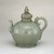 <em>Ewer with Cover</em>, first half 12th century. Stoneware with underglaze slip decoration and celadon glaze, 9 7/8 x 9 1/2 x 5 1/2 in. (25.1 x 24.1 x 14 cm). Brooklyn Museum, Gift of Mrs. Darwin R. James III, 56.138.1a-b. Creative Commons-BY (Photo: Brooklyn Museum, 56.138.1a-b_SL3_edited.jpg)