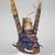 Tomman Islander. <em>Headdress</em>, early 20th century. Bamboo, leaves, vegetal-fiber paste, tusks, pigment, 20 3/4 x 19 1/2 x 21 in. (52.7 x 49.5 x 53.3 cm). Brooklyn Museum, Frank L. Babbott Fund, 62.18.4. Creative Commons-BY (Photo: , 62.18.4_threequarter_PS11.jpg)
