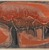 Worden Day (American, 1916-1986). <em>Continental Divide</em>, 1962. Relief print in color, 37 1/2 x 53 1/2 in. (95.3 x 135.9 cm). Brooklyn Museum, Gift of Hollis K. Thayer, Florence Read Thayer, Mary C. Draper, and Mrs. Darwin R. James III, 65.81.8. © artist or artist's estate (Photo: , 65.81.8_PS9.jpg)