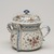 <em>Posset Pot and Cover</em>, ca.1700. Ceramic, glaze, polychrome glazes, 7 1/2 x 6 in. (19.1 x 15.2 cm). Brooklyn Museum, H. Randolph Lever Fund, 66.31. Creative Commons-BY (Photo: Brooklyn Museum, 66.31_PS11.jpg)
