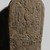 <em>Boundary Stela of Sety I</em>, ca. 1294 B.C.E. Limestone, 25 1/2 × 15 1/2 × 6 3/4 in., 110 lb. (64.8 × 39.4 × 17.1 cm, 49.9kg). Brooklyn Museum, Charles Edwin Wilbour Fund, 69.116.1. Creative Commons-BY (Photo: , 69.116.1_PS9.jpg)