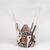 Tomman Islander. <em>Headdress (Nalowan Nambatin avi)</em>, mid 20th century. Tree fern, vegetal-fiber paste, tusks, pigment, 30 × 32 11/16 × 30 11/16 in. (76.2 × 83 × 78 cm) [measurements include fiber]. Brooklyn Museum, Gift of Mr. and Mrs. N. Richard Miller, 74.215.4. Creative Commons-BY (Photo: , 74.215.4_front_PS9.jpg)