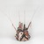 Tomman Islander. <em>Headdress (Nalowan Nambatin avi)</em>, mid 20th century. Tree fern, vegetal-fiber paste, tusks, pigment, 30 × 32 11/16 × 30 11/16 in. (76.2 × 83 × 78 cm) [measurements include fiber]. Brooklyn Museum, Gift of Mr. and Mrs. N. Richard Miller, 74.215.4. Creative Commons-BY (Photo: , 74.215.4_threequarter_PS9.jpg)