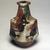 Kawai Kanjiro (Japanese, 1890-1966). <em>Three Color Bottle Vase</em>, ca. 1965. Stoneware, 9 3/4 x 5 3/4 in. (24.8 x 14.6 cm). Brooklyn Museum, Gift of Dr. Herbert Meadow, 75.120.1. Creative Commons-BY (Photo: Brooklyn Museum, 75.120.1.jpg)