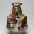 Kawai Kanjiro (Japanese, 1890-1966). <em>Three Color Bottle Vase</em>, ca. 1965. Stoneware, 9 3/4 x 5 3/4 in. (24.8 x 14.6 cm). Brooklyn Museum, Gift of Dr. Herbert Meadow, 75.120.1. Creative Commons-BY (Photo: Brooklyn Museum, 75.120.1_view01_PS11.jpg)