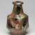 Kawai Kanjiro (Japanese, 1890-1966). <em>Three Color Bottle Vase</em>, ca. 1965. Stoneware, 9 3/4 x 5 3/4 in. (24.8 x 14.6 cm). Brooklyn Museum, Gift of Dr. Herbert Meadow, 75.120.1. Creative Commons-BY (Photo: Brooklyn Museum, 75.120.1_view02_PS11.jpg)