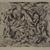 Jackson Pollock (American, 1912-1956). <em>Untitled (No. 6 Series of 7)</em>, 1944-1945. Engraving on wove paper, sheet: 21 1/2 × 28 13/16 in. (54.6 × 73.2 cm). Brooklyn Museum, Gift of Lee Krasner Pollock, 75.213.6. © artist or artist's estate (Photo: , 75.213.6_PS9.jpg)