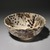 Kitaoji Rosanjin (Japanese, 1883-1959). <em>Bowl with Grape Pattern</em>, ca. 1950. Glazed stoneware, 4 x 9 1/8 in. (10.2 x 23.2 cm). Brooklyn Museum, Gift of Sidney B. Cardozo, Jr. in memory of Eva M. Cardozo, 76.42.1. Creative Commons-BY (Photo: Brooklyn Museum, 76.42.1_SL1.jpg)