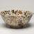 Kitaoji Rosanjin (Japanese, 1883-1959). <em>Bowl with Grape Pattern</em>, ca. 1950. Glazed stoneware, 4 x 9 1/8 in. (10.2 x 23.2 cm). Brooklyn Museum, Gift of Sidney B. Cardozo, Jr. in memory of Eva M. Cardozo, 76.42.1. Creative Commons-BY (Photo: Brooklyn Museum, 76.42.1_view02_PS11.jpg)