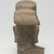 <em>Head of Vishnu</em>, 7th century. Sandstone, 5 7/8 x 2 15/16 in. (14.9 x 7.5 cm). Brooklyn Museum, Gift of Mrs. Henry L. Moses, 76.44. Creative Commons-BY (Photo: Brooklyn Museum, 76.44_back_PS11.jpg)