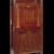 Gustav Stickley (1857-1942). <em>Dropfront Desk</em>, ca. 1903. Oak with copper hardware, 51 1/2 x 25 3/4 x 10 7/8 in. (130.8 x 65.4 x 27.6 cm). Brooklyn Museum, H. Randolph Lever Fund, 77.87. Creative Commons-BY (Photo: Brooklyn Museum, 77.87_SL1.jpg)