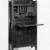 Gustav Stickley (1857-1942). <em>Dropfront Desk</em>, ca. 1903. Oak with copper hardware, 51 1/2 x 25 3/4 x 10 7/8 in. (130.8 x 65.4 x 27.6 cm). Brooklyn Museum, H. Randolph Lever Fund, 77.87. Creative Commons-BY (Photo: Brooklyn Museum, 77.87_bw.jpg)