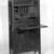 Gustav Stickley (1857-1942). <em>Dropfront Desk</em>, ca. 1903. Oak with copper hardware, 51 1/2 x 25 3/4 x 10 7/8 in. (130.8 x 65.4 x 27.6 cm). Brooklyn Museum, H. Randolph Lever Fund, 77.87. Creative Commons-BY (Photo: Brooklyn Museum, 77.87_interior_bw_IMLS.jpg)
