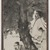 Fu Baoshi (Chinese, 1904-1965). <em>Two Scholars Beneath a Tree, Unmounted hanging scroll</em>, dated January, 1945. Unmounted hanging scroll, ink and light color on paper, Exclusive of cloth borders: 53 7/8 x 15 3/4 in. (136.8 x 40 cm). Brooklyn Museum, Carll H. de Silver Fund and A. Augustus Healy Fund, 78.44. © artist or artist's estate (Photo: , 78.44_PS9.jpg)