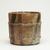Kitaoji Rosanjin (Japanese, 1883-1959). <em>Kitaoji Rosanjin, Mizushashi (Tea Ceremony Fresh-Water Jar)</em>, ca. 1950. stoneware, 7 1/4 x 8 in. (18.4 x 20.3 cm). Brooklyn Museum, Gift of Dr. and Mrs. Frederick Baekeland, 81.275. Creative Commons-BY (Photo: Brooklyn Museum, 81.275_view02_PS11.jpg)