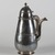 Samuel Thorne. <em>Chocolate Pot</em>. Silver, 10 × 7 × 6 1/2 in. (25.4 × 17.8 × 16.5 cm). Brooklyn Museum, Bequest of Donald S. Morrison, 81.54.28. Creative Commons-BY (Photo: , 81.54.28_PS9.jpg)