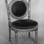 <em>Side Chair</em>, ca. 1868. Beech, pigment, modern upholstery, 29 x 18 1/4 x 18 1/4 in. (73.7 x 46.4 x 46.4 cm). Brooklyn Museum, H. Randolph Lever Fund, 81.56.2. Creative Commons-BY (Photo: Brooklyn Museum, 81.56.2_bw_IMLS.jpg)