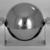 Helen A. Hughes Dulany (American, 1885-1968). <em>Caviar Server</em>, ca. 1930. Chromed metal, 6 5/16 x 8 1/8 x 6 1/2 in. (16 x 20.6 x 16.5 cm). Brooklyn Museum, Gift of Paul F. Walter, 84.124.13. Creative Commons-BY (Photo: Brooklyn Museum, 84.124.13_bw.jpg)