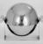 Helen A. Hughes Dulany (American, 1885-1968). <em>Caviar Server</em>, ca. 1930. Chromed metal, 6 5/16 x 8 1/8 x 6 1/2 in. (16 x 20.6 x 16.5 cm). Brooklyn Museum, Gift of Paul F. Walter, 84.124.13. Creative Commons-BY (Photo: , 84.124.13a_bw_SL3.jpg)