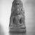 <em>Buddha Meditating Under the Bodhi Tree</em>, ca. 900 C.E. Granite, 69 1/2 x 31 1/2 x 18 1/2 in., 2357 lb. (176.5 x 80 x 47 cm, 1069.13kg). Brooklyn Museum, Gift of Alice Boney, 84.132. Creative Commons-BY (Photo: Brooklyn Museum, 84.132_bw.jpg)