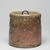 <em>Shigaraki Ware Mizusashi (Tea Ceremony Fresh Water Jar)</em>, ca. 1620. Buff stoneware with ash glaze, lacquer lid; Shigaraki ware, 6 x 6 1/2 in. (15.2 x 16.5 cm). Brooklyn Museum, Gift of Dr. and Mrs. John P. Lyden, 84.196.18a-b (Photo: , 84.196.18a-b_view01_PS9.jpg)