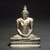 <em>Seated Buddha</em>, 18th century. Gilt bronze, 9 1/2 x 7 1/4 x 3 1/2 in. (24.1 x 18.4 x 8.9 cm). Brooklyn Museum, Gift of Dr. Bertram H. Schaffner, 84.267.1. Creative Commons-BY (Photo: Brooklyn Museum, 84.267.1_transp4289.jpg)