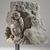 <em>Avalokiteshvara</em>, 9th century. Volcanic stone sculpture, 12 × 11 1/4 × 9 3/4 in., 43 lb. (30.5 × 28.6 × 24.8 cm, 19.5kg). Brooklyn Museum, Gift of Georgia and Michael de Havenon, 85.215.4. Creative Commons-BY (Photo: Brooklyn Museum, 85.215.4_threequarter_PS6.jpg)