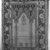 <em>Prayer Rug</em>, 18th century. Wool warp, weft and pile, Old: 66 x 48 in. (167.6 x 121.9 cm). Brooklyn Museum, Gift of the Ernest Erickson Foundation, Inc., 86.227.92. Creative Commons-BY (Photo: , 86.227.92_overall_acetate_bw.jpg)