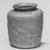 Islamic. <em>Bottle of Blown Glass</em>, 9th-13th century C.E. Glass, 2 15/16 x greatest diam. 2 7/16 in. (7.5 x 6.2 cm). Brooklyn Museum, Gift of Robert B. Woodward, 01.119. Creative Commons-BY (Photo: Brooklyn Museum, CUR.01.119_negA_bw.jpg)