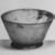 Roman. <em>Bowl</em>, 2nd-3rd century C.E. Glass, 2 3/16 x greatest diam. 3 3/4 in. (5.5 x 9.6 cm). Brooklyn Museum, Gift of Robert B. Woodward, 01.187. Creative Commons-BY (Photo: Brooklyn Museum, CUR.01.187_negA_bw.jpg)
