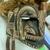<em>Mask</em>. Wood, barkcloth, fiber, pigment, paste, tapestry turban snail (Turbo petholatus) opercula, 15 15/16 × 9 × 14 in. (40.5 × 22.9 × 35.6 cm). Brooklyn Museum, Brooklyn Museum Collection, 01.300. Creative Commons-BY (Photo: , CUR.01.300_detail01.jpg)