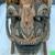 <em>Mask</em>. Wood, barkcloth, fiber, pigment, paste, tapestry turban snail (Turbo petholatus) opercula, 15 15/16 × 9 × 14 in. (40.5 × 22.9 × 35.6 cm). Brooklyn Museum, Brooklyn Museum Collection, 01.300. Creative Commons-BY (Photo: , CUR.01.300_detail07.jpg)