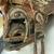 <em>Mask</em>. Wood, barkcloth, fiber, pigment, paste, tapestry turban snail (Turbo petholatus) opercula, 15 15/16 × 9 × 14 in. (40.5 × 22.9 × 35.6 cm). Brooklyn Museum, Brooklyn Museum Collection, 01.300. Creative Commons-BY (Photo: , CUR.01.300_side03.jpg)