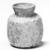 Islamic. <em>Vase of Molded Glass</em>, 8th-11th century C.E. Glass, 3 1/4 x 2 3/4 in. (8.2 x 7 cm). Brooklyn Museum, Gift of Robert B. Woodward, 01.61. Creative Commons-BY (Photo: Brooklyn Museum, CUR.01.61_negA_bw.jpg)
