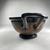 Greek. <em>Red-Figure Skyphos or Kotyle</em>, ca. 400 B.C.E. Clay, slip, 3 9/16 × 5 1/16 × 7 1/2 in. (9 × 12.8 × 19 cm). Brooklyn Museum, Gift of Robert B. Woodward, 03.284. Creative Commons-BY (Photo: Brooklyn Museum, CUR.03.284_view03.jpg)