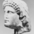 Roman. <em>Head of Apollo</em>, late 1st century B.C.E., probably. Marble, 8 7/16 × 5 11/16 × 6 5/16 in. (21.5 × 14.5 × 16 cm). Brooklyn Museum, Gift of Carll H. de Silver, 03.285. Creative Commons-BY (Photo: , CUR.03.285_NegID_L61_8_print_bw.jpg)